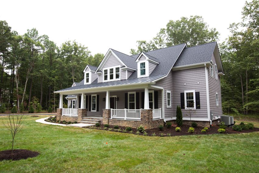 The avalon simply home custom home builders in virginia for Custom home builders fredericksburg va