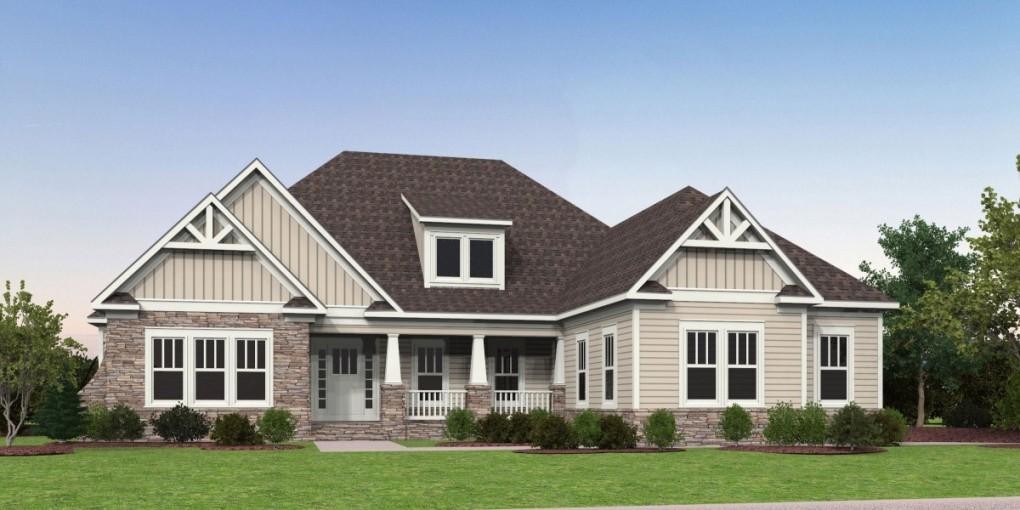 The corolla simply home custom home builders in virginia for Custom home builders fredericksburg va