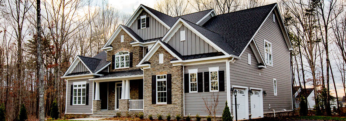 Our latest completed home in the Brandermill Park section of Fawn Lake