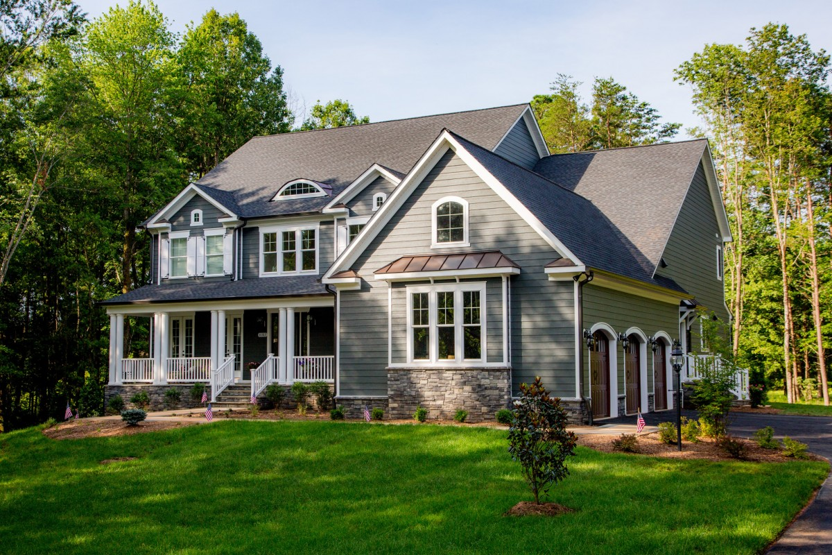 One of a kind new home in Fawn Lake