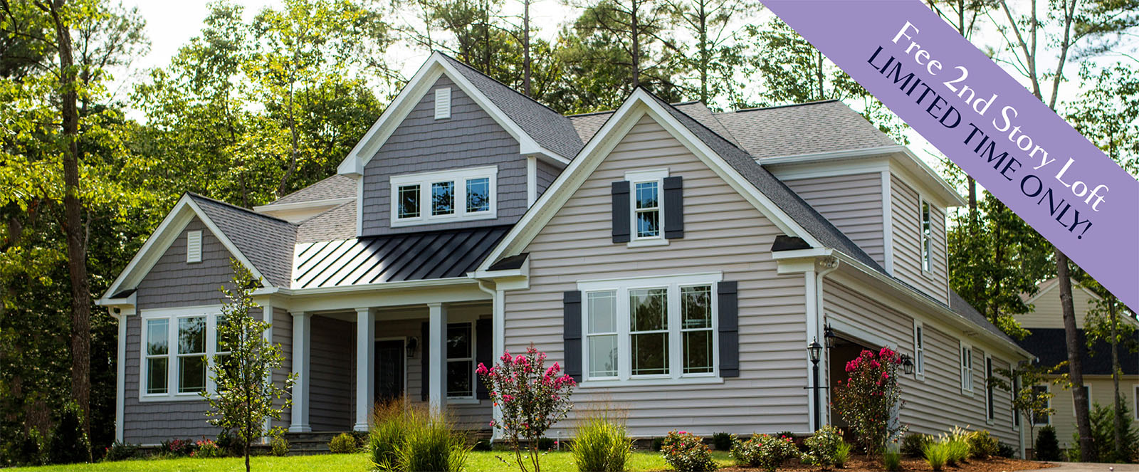 The addison simply home custom home builders in virginia for Custom home builders fredericksburg va