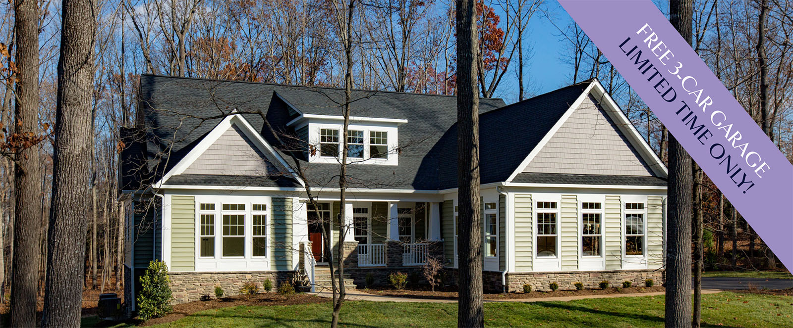 The birchwood simply home custom home builders in virginia for Custom home builders fredericksburg va