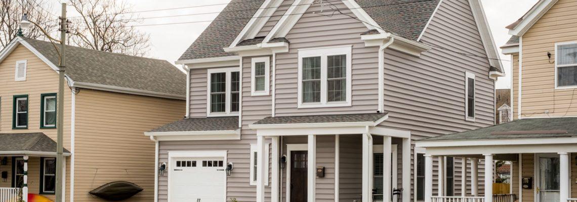 Old Town Fredericksburg – Narrow Lot Design