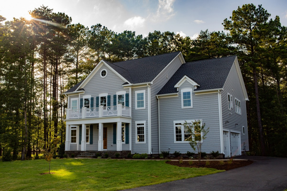 Lake Living at its best with this Coastal Cottage inspired new home!