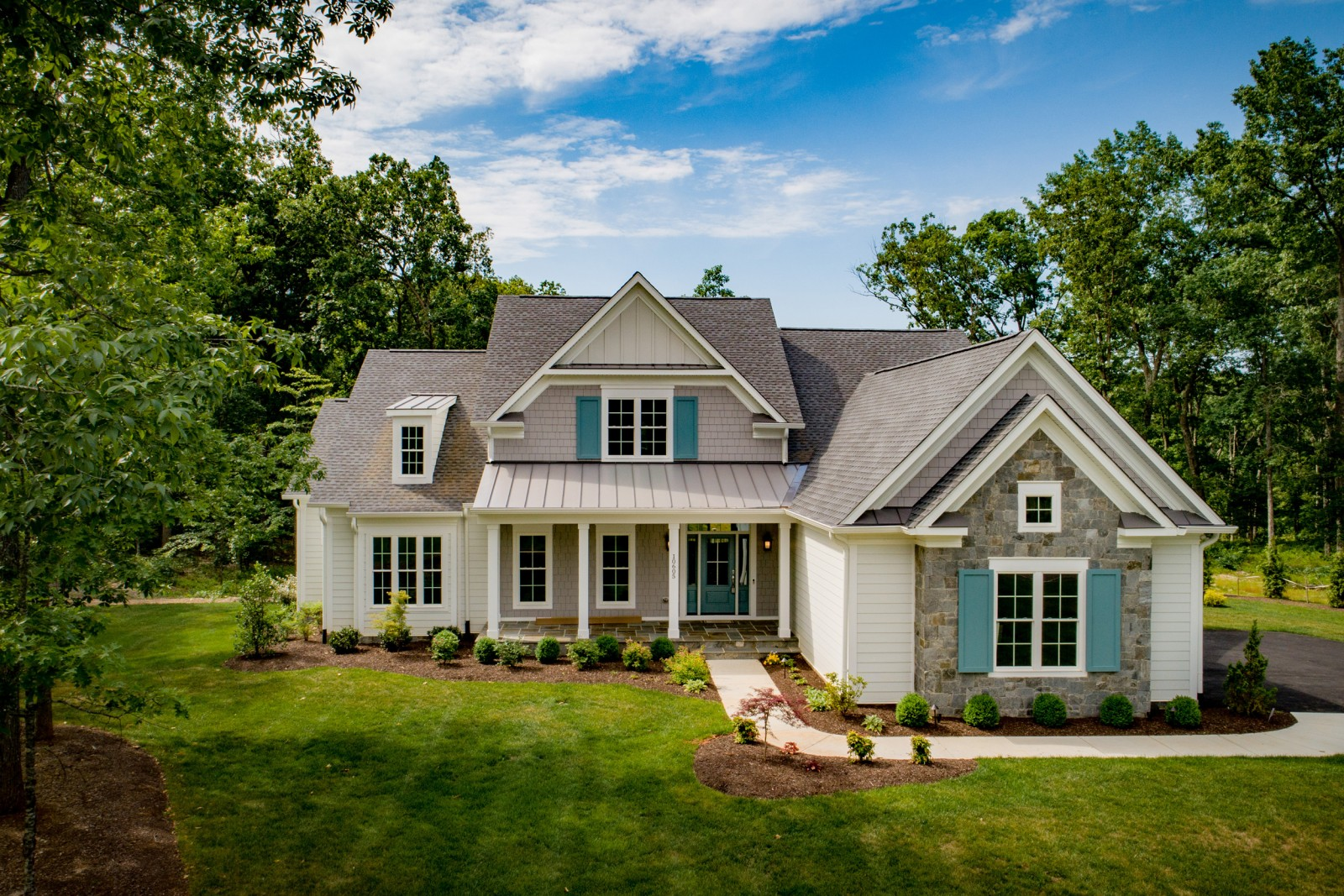 Custom Home in Fawn Lake VA